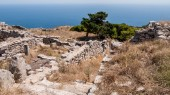 Ostrov Santorini. Řecko