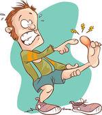 Ember sérült láb