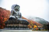 Big Buddha Monument of Sinheungsa Temple in Seoraksan National Park