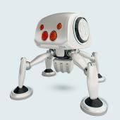 Futurisztikus spiderbot koncepció