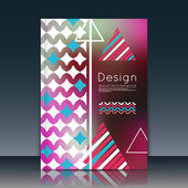 Abstract composition, notebook cover, font texture, blue, red triangle part construction, burgundy a4 brochure title sheet, creative figure icon, commercial logo surface, banner form, flier fiber