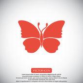 Motýl vektorové ikony