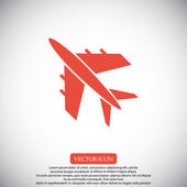 Flying plane icon vector illustration