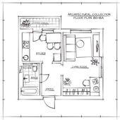 Architektonický plán prostorového uspořádání