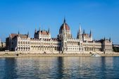 Paliament of Budapest and Danube River