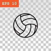 Volejbalový míč ikona