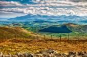 Pohled na hory Mourne