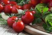 čerstvý jarní zelenina