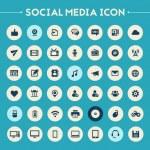 Постер, плакат: Social Media icon set