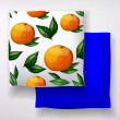 ������, ������: Pillow with citrus fruits