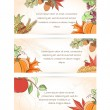 Постер, плакат: Thanksgiving holiday banner