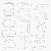Vector collection design elements