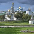 Постер, плакат: The Cathedral of the Holy Trinity St Sergius Lavra The Shrine of all Christians