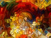 Petals of Stained Glass — Stock Photo