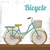 Bike lifestyle design — Stock Vector