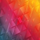 Triangle de vecteur fond Abstrait polygone. — Vecteur