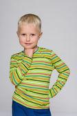 Little blond boy — Stock Photo