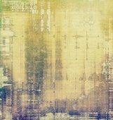 Vintage, textured background with grunge patterns — Stock Photo