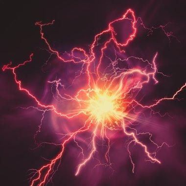 High voltage background