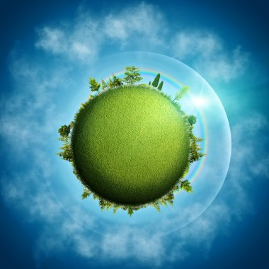 Green Earth. Abstract eco background