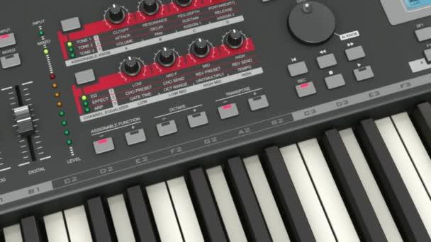 Profesionální hudební syntezátor