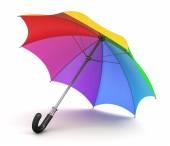 Fotografie Duhový deštník
