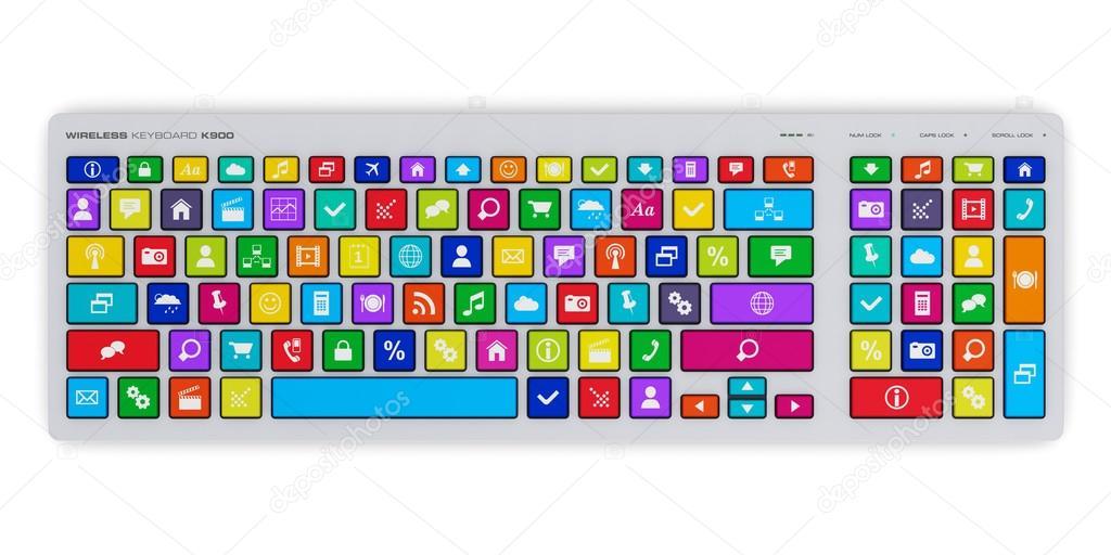 компьютерная клавиатура с