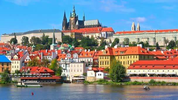 scenérie z Prahy, Česká republika