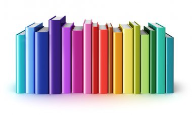Color hardcover books