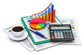 finance a účetnictví koncepce