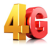 Fotografie 4G LTE wireless technology logo
