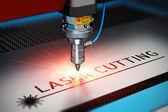 Fotografie Technologie řezání laserem