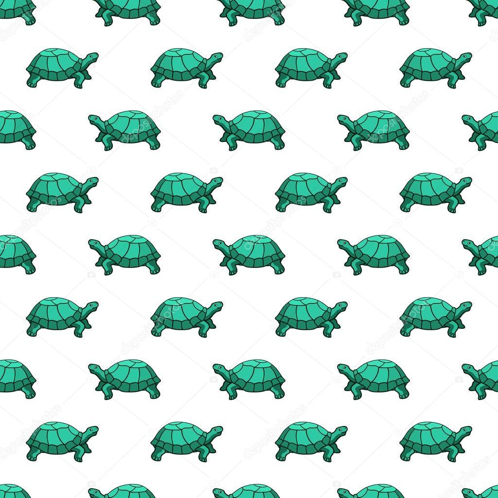 patrón de tortugas — Vector de stock © AlexanderZam #55548853