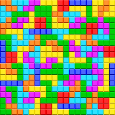 Tetris game pattern