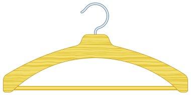 wooden clothes hange
