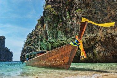 Wooden boat, Thailand
