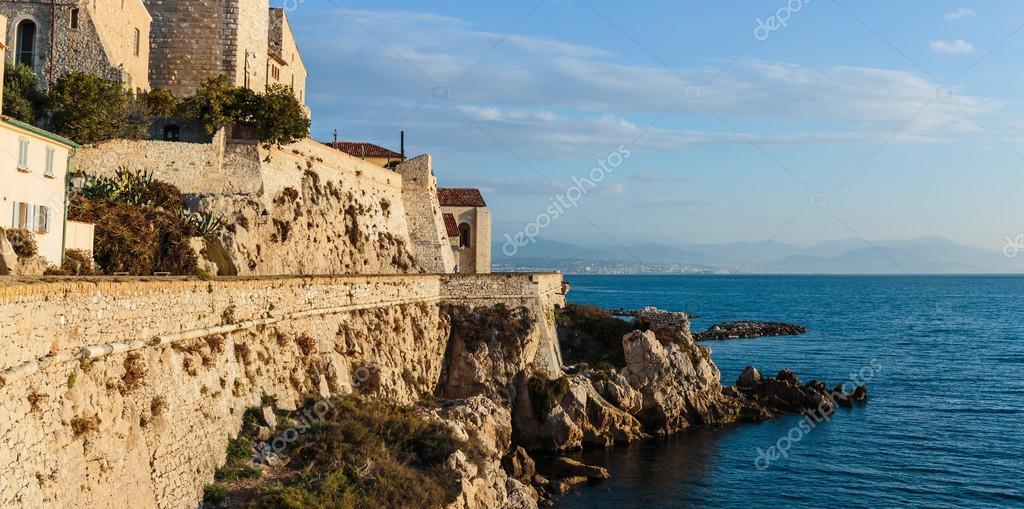 Fortress at dawn Antibes
