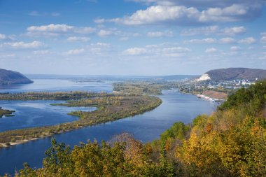 valley of the Volga river