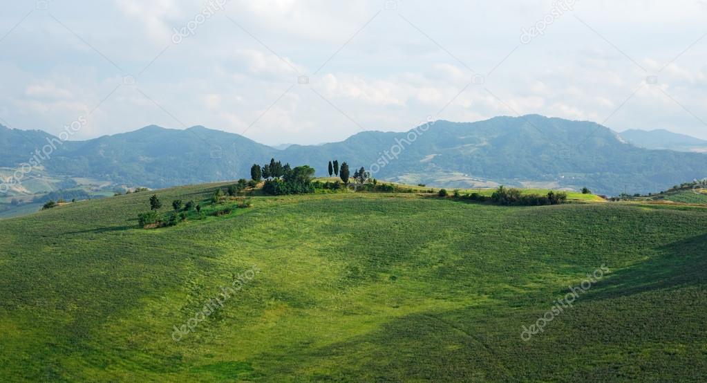 Italian landscape in Tuscany