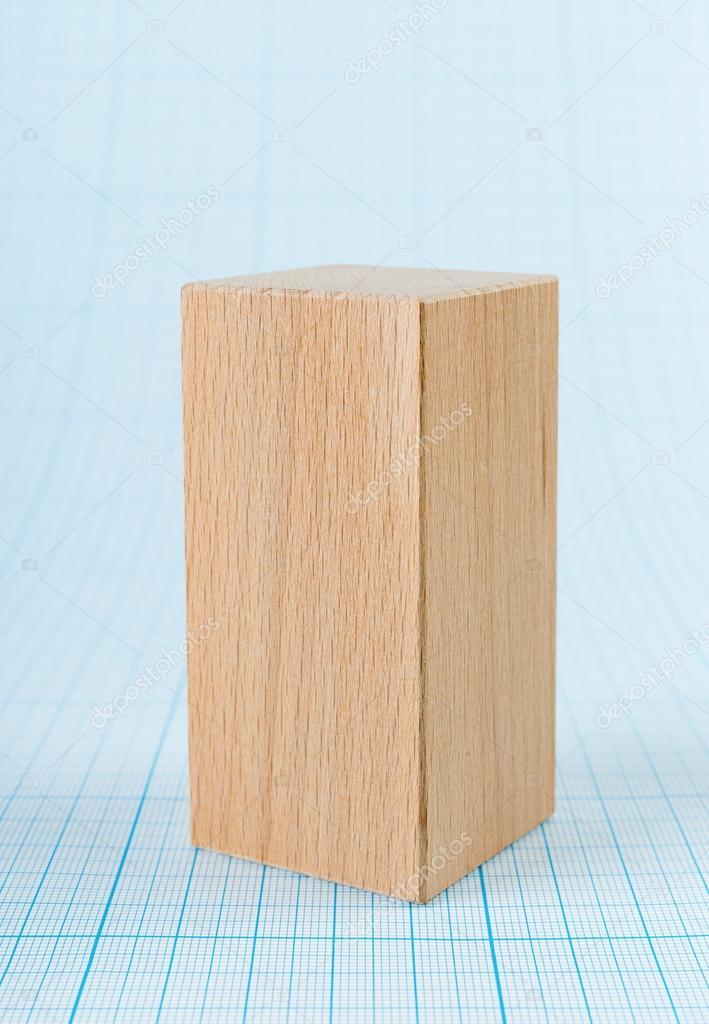 parall l pip de en bois de forme g om trique photographie observer 98978282. Black Bedroom Furniture Sets. Home Design Ideas