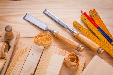 Composition of woodworking tools