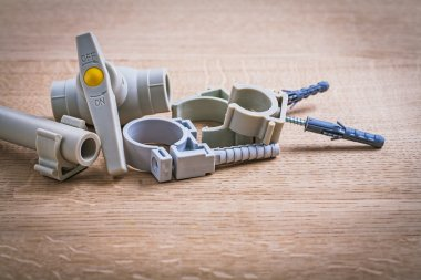 Polypropylene Fixators And  Pipe  With Clips