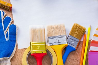 Set of tools for painting