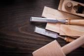 Fotografie Lump hammer, shaving plane, chisels