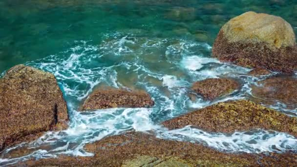 Tropical Sea Water in Tidepools in Thailand