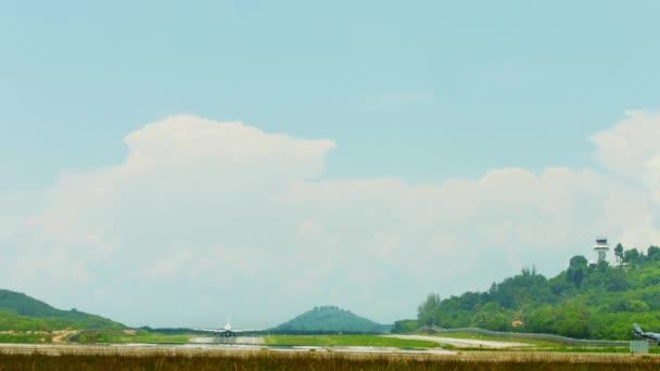 Startu velkých dopravních letadel z letiště