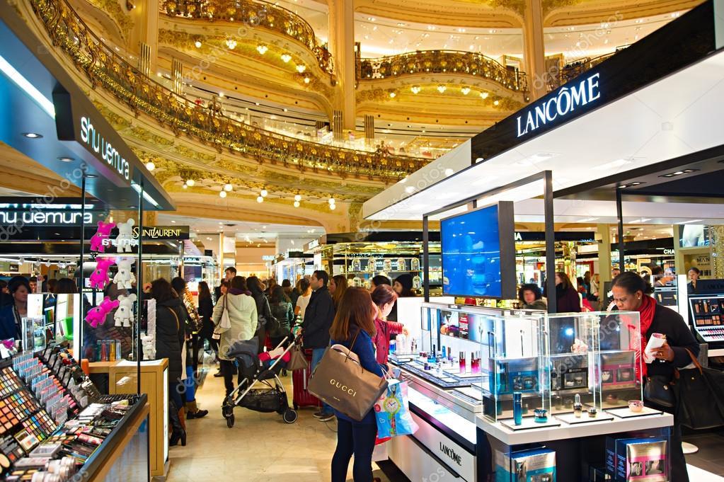 lafayette luxury mall paris stock editorial photo joyfull 65832329