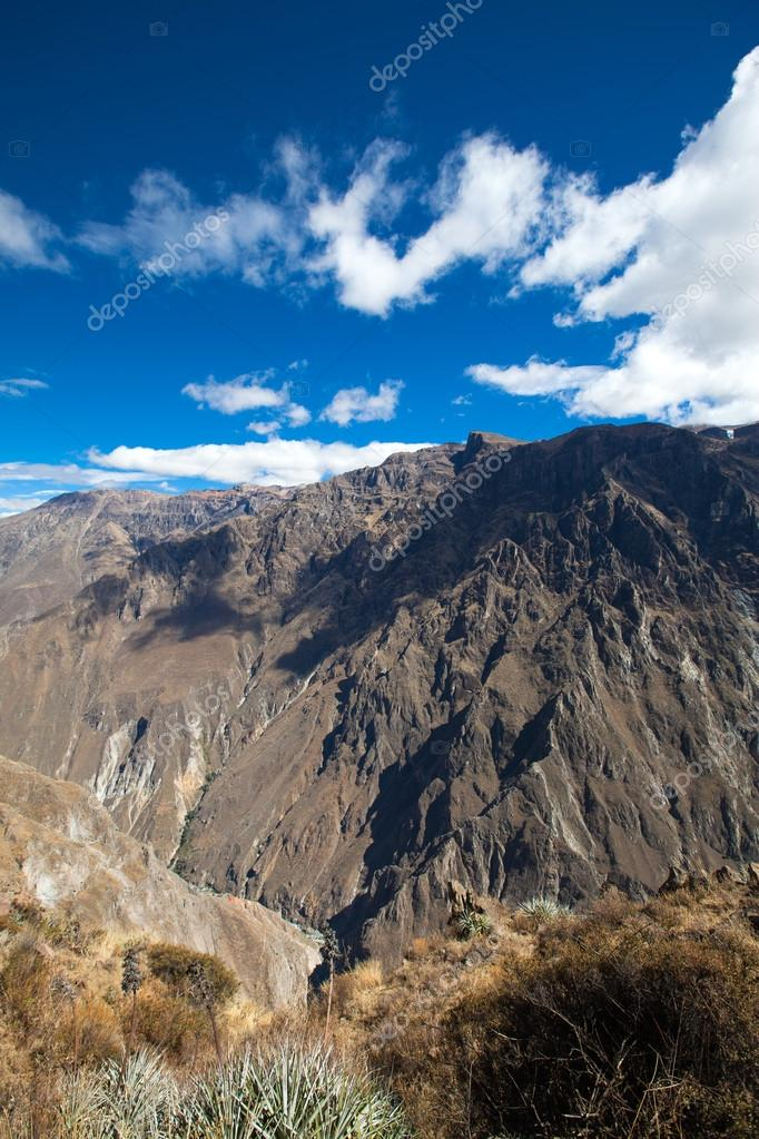 canyon Colca is the deepest in the world