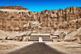 Fotografie chrám královny Hatšepsut v Egyptě