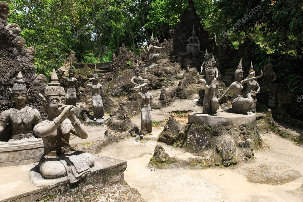 tanim magic buddha garden in thailand stock photo - Buddha Garden